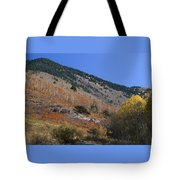 Colorful Orient Canyon - Rio Grande National Forest Tote Bag