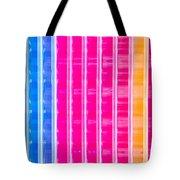Colorful Plastic Tote Bag