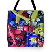 Colorful Plastic Toys #1 Tote Bag