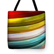 Colorful Plates Tote Bag