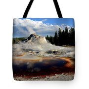 Colorful Pool Tote Bag