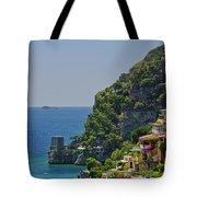 Colorful Positano Tote Bag