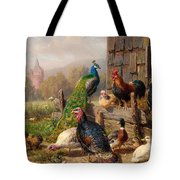 Colorful Poultry Tote Bag