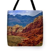 Colorful Red Rock Tote Bag