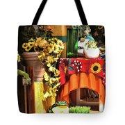 Colorful Restaurant Bucerias Tote Bag