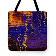 Colorful Ripple Effect Tote Bag