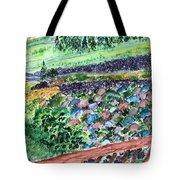Colorful Rock Garden Tote Bag