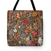 Colorful Rocks In Stream Bed Montana Tote Bag