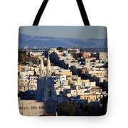 Colorful San Francisco Tote Bag