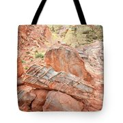 Colorful Sandstone In Wash 3 - Valley Of Fire Tote Bag