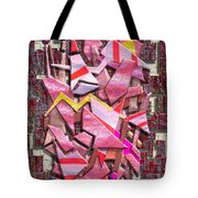 Colorful Scrap Metal Tote Bag