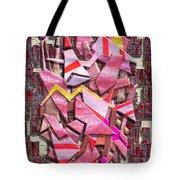 Colorful Scrap Metal Tote Bag
