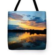 Colorful Serenity Tote Bag