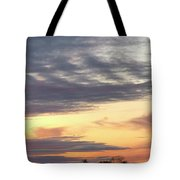 Sherbet Colored Sky Tote Bag