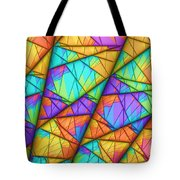 Colorful Slices Tote Bag