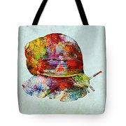 Colorful Snail Art  Tote Bag