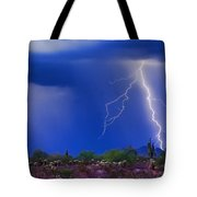 Colorful Sonoran Desert Storm Tote Bag by James BO  Insogna