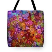 Colorful Spring Garden Tote Bag