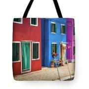 Colorful Street Tote Bag