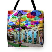 Colorful Street Tote Bag