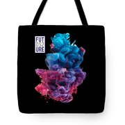Colorful Stylish Abstract Tote Bag