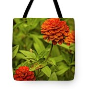 Colorful Summer Flowers Tote Bag