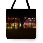 Colorful Tampa Bay Night Tote Bag