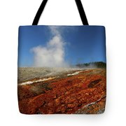 Colorful Thermal Area  Tote Bag