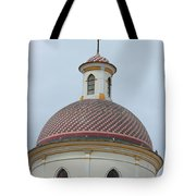 Colorful Tiles On A Church Dome Tote Bag