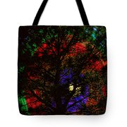 Colorful Tree Tote Bag