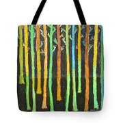 Colorful Trees Tote Bag