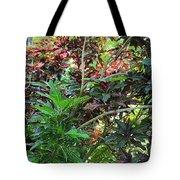 Colorful Tropical Plants Tote Bag