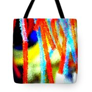 Colorful Tubes Tote Bag
