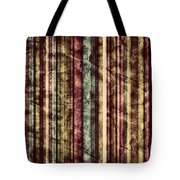 Colorful Vertical Stripes Background In Vintage Retro Style  Tote Bag