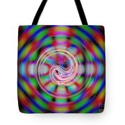 Colorful Water Drop Tote Bag