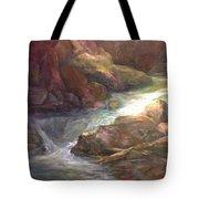 Colorful Water Flow Tote Bag
