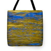 Colorful Water Surface Tote Bag