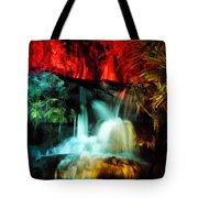 Colorful Waterfall Tote Bag