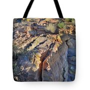 Colorful Wave Of Sandstone In Valley Of Fire State Park Tote Bag