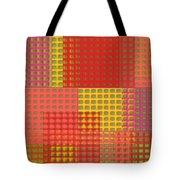 Colorful Weave Tote Bag