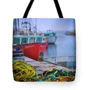 Colorful Wharf Tote Bag