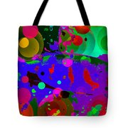 Colorful World Of A Fish Tote Bag