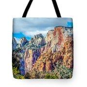 Colorful Zion Canyon National Park Utah Tote Bag