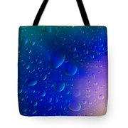 Colorfull Water Drop Background Abstract Tote Bag