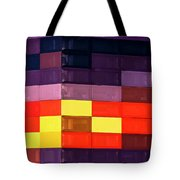 Colorfully Blocked Walls Tote Bag