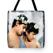 Colorized Edoardo And Vincenzo Galdi By Pluschow Tote Bag