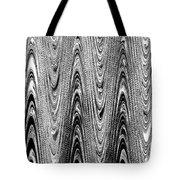Colorless Wood Grain Tote Bag