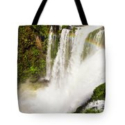 Colors Above The Water Tote Bag