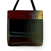 Colors Along The River Abstract Tote Bag
