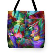 Colors And Geometries For A Violin  Tote Bag
